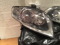 Audi A4 head lights from 2007