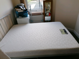Double Bed and Memory Foam Mattress