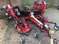 Turf mech pro flex rough cut mower