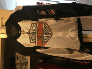 HOT WEATHER HARLEY JACKET $70.