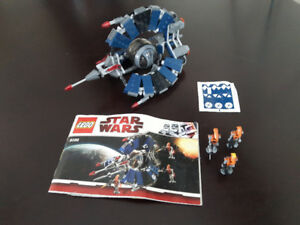 Star Wars Lego set #8086-1 - Droid Trifighter.