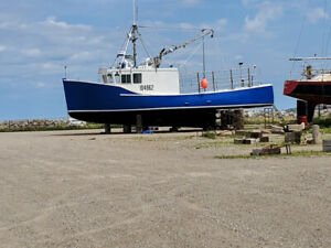 Lobster boat for sale or lease