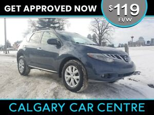 2012 Murano SL $119B/W TEXT US FOR EASY FINANCING! 587-582-2859
