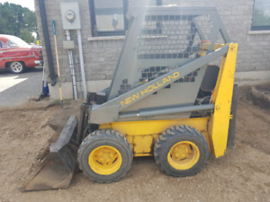 New holland l250 skidsteer