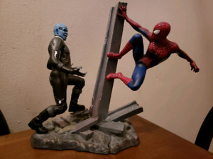 Amazing Spider-Man 2 statues