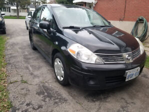 2007 Nissan Versa, Winter Tires Included.