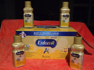 Enfamil A+ Ready to Feed Iron Fortified Infant Formula 17 pack