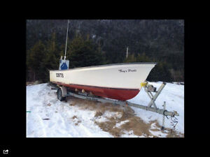 22ft seabreeze boat & 60hp yamaha motor