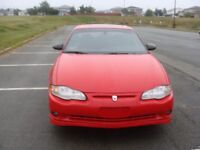 2004 fully loaded Chevrolet Monte Carlo Supercharged SS
