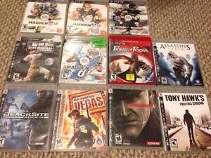 PS3 11 game lot