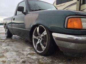 1997 Ford ranger lowered slammed custom