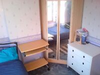 Room to share in 3 bedroom house text Sami to view 07888832828