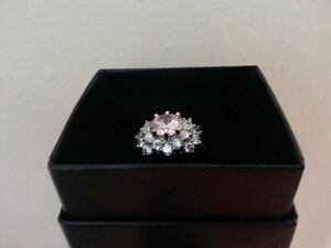 Silver Sparkle Ring  - size 10