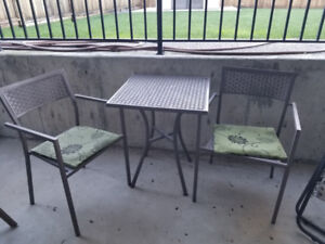 Foldable Patio Set for 2