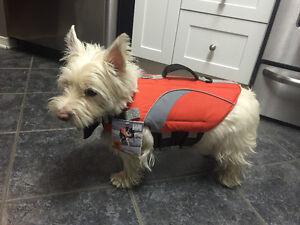 Size Small Dog Canine Lifejacket Flotation Device