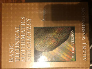 Basic technical mathematics with calculus kijiji in ontario basic technical mathematics with calculus 6th edition fandeluxe Choice Image