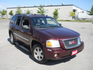 2007 GMC Envoy, Automatic, 4x4, Low km, Sunroof, warranty availa