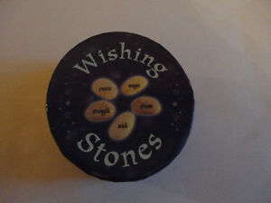 Brand new in box set of wishing stones and booklet London Ontario image 2
