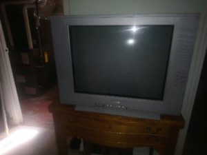 Emerson and Sanyo box tv's. Good working condition