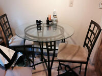 Moving Sale - Bar Table and 2 Chairs - Vancouver