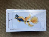 Brand new iPhone 6s Plus , 64 GB, Gold, unlocked.