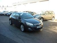 2012 Vauxhall Astra 1.6i 16v VVT ( 115ps ) Excite Finance Available