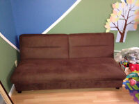 Comfy and Clean Futton Couch for $40 OR best offer