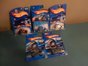 Hot Wheels Volkswagen Beetles Bugs Lot of 5