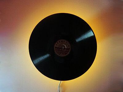 Led Wandleuchte Schallplatte TV Hifi Wandlampe Leds amber