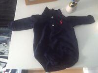Ralph Lauren long sleeve vest for boy.