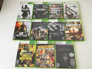 Xbox 360 Games like new adult owned smoke free home