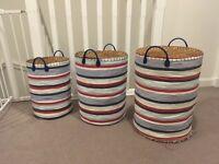 Kids storage baskets (jo jo maman Bebe)