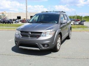 2012 DODGE JOURNEY R/T with Leather & Remote Start!