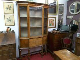 Antique Display Cabinet - Can Deliver For £19