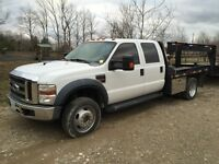 2008 ford f550 diesel 4x4 fully loaded flat bed City of Toronto Toronto (GTA) Preview