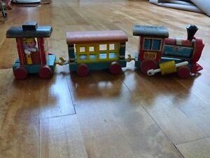 Fisher Price Huffy Puffy #999 Train