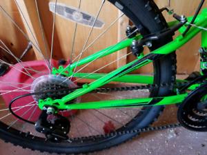 18 speed rock creek mountain bike