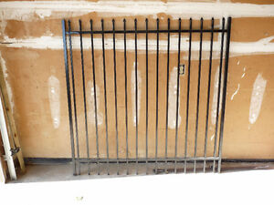 "Selling Metal Fence Gate ""New York Collection"" 59""Wx60""H"