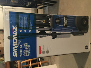 Brand New never opened Simoniz 2000 PSI Pressure washer