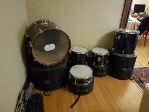 5 piece Yamaha DP drum set