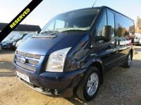 2013 13 FORD TRANSIT 2.2 TDCI 260 LIMITED SWB LOW ROOF 125 BHP 54936 MILES NO VA