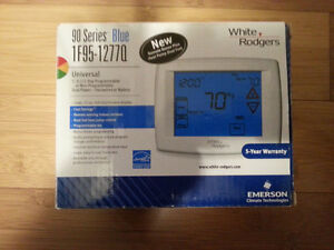 Blue Touchscreen Thermostat with Remote Sensor(Indoor/Outdoor)