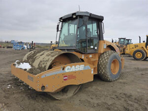 2010 Case SV212 Smooth Drum Vibratory Roller UP FOR AUCTION
