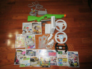 Nintendo Wii Game Console with Games For Sale