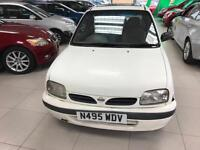 1996 Nissan Micra 1.3 16v GX - MOT-OCTOBER 95,145 miles - Sunroof