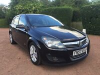 Vauxhall Astra 2008 sxi in black only 90k
