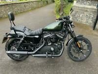 2019 (68) Harley Davidson Sportster XL883N Iron ABS - Candy Green - 1738 miles