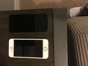 iPhone's for sale! I have two 5's IPhones. excellent condition!!