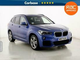 image for 2017 BMW X1 sDrive 18d M Sport 5dr - SUV 5 Seats SUV Diesel Manual