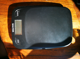 Salter Electric Kitchen Scales - in box